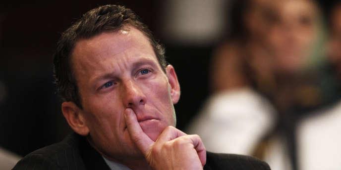 Lance Armstrong, le 22 septembre 2010.