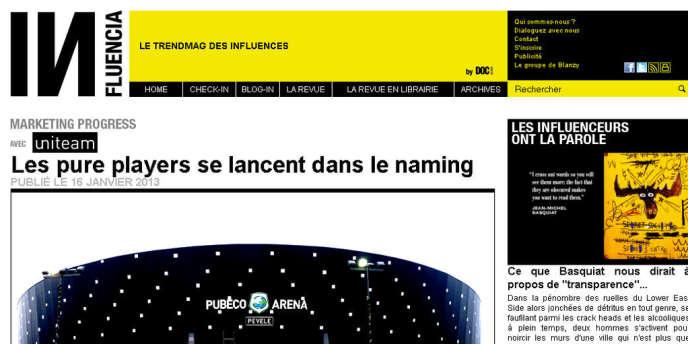 Influencia.net, le