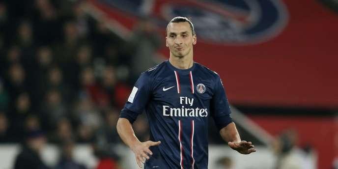 Zlatan Ibrahimovic, le meilleur buteur du championnat de France pour le PSG.