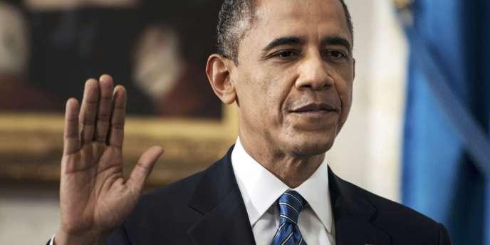 Barack Obama a prêté serment à la Maison Blanche, dimanche 20 janvier, et entame son second mandat.