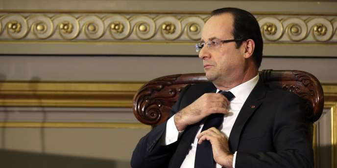 François Hollande, le 18 janvier à Paris.