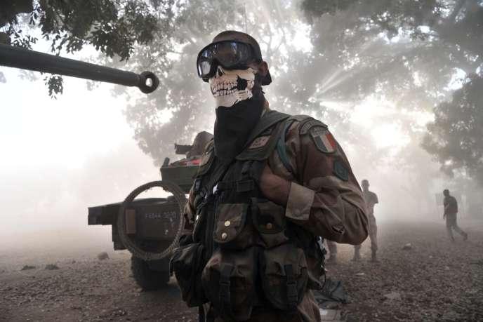 Le cliché en question pris par un photographe de l'AFP le 20 janvier 2013 à Niono