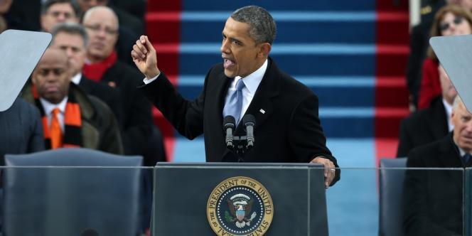 Lors de son discours d'investiture, le 21 janvier à Washington, Barack Obama avait insisté sur l'urgence à combattre le changement climatique.