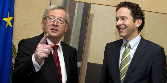 Il y a encore trois mois, Jeroen Dijsselbloem (à droite) était un quasi-inconnu.