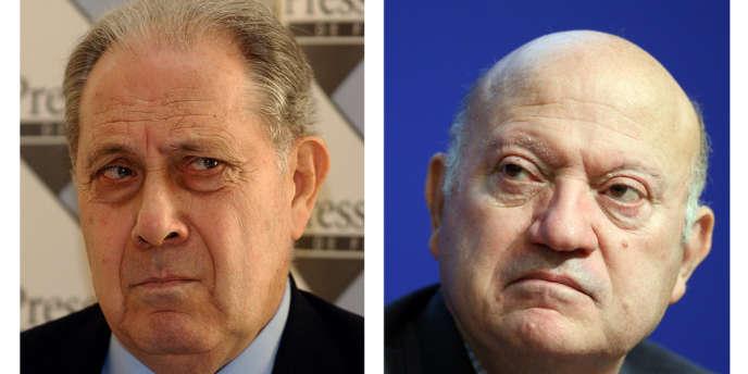 Charles Pasqua et André Santini étaient poursuivis devant le tribunal correctionnel pour
