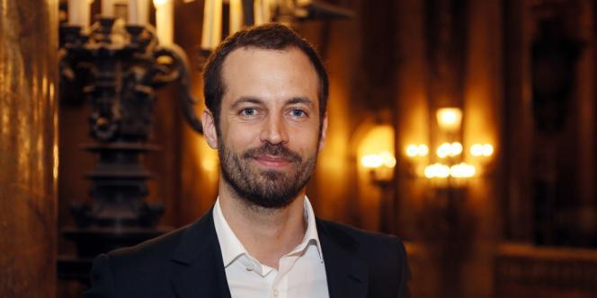 Le danseur et chorégraphe Benjamin Millepied après sa nomination comme directeur de la danse à l'Opéra de Paris, le 24 janvier 2013.