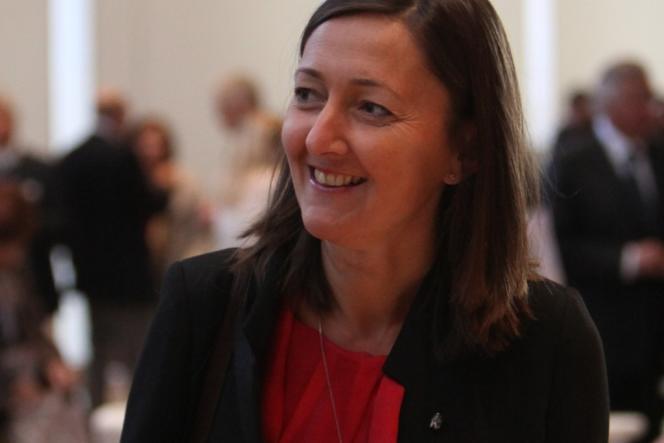 Karine Berger, députée (PS) des Hautes-Alpes.
