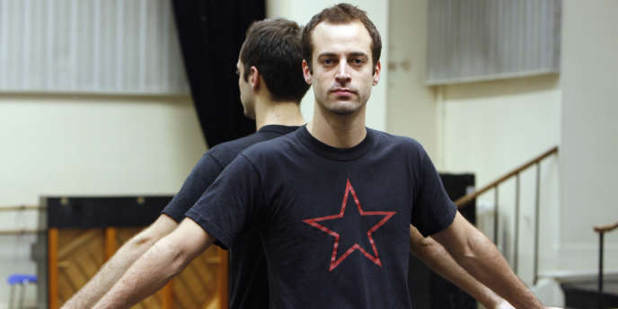 Le danseur et chorégraphe français Benjamin Millepied au Palais Garnier à Paris, le 25 octobre 2006.