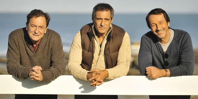 Wladimir Yordanoff, Gérard Lanvin et Jean-Hugues Anglade dans le film français de Stephan Archinard et François Prévôt-Leygonie,