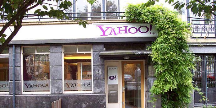 Les bureaux de Yahoo à Amsterdam.
