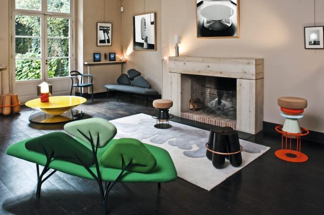 L'appartement témoin exposé par La Chance  pendant la Design Week 2012, à Paris.