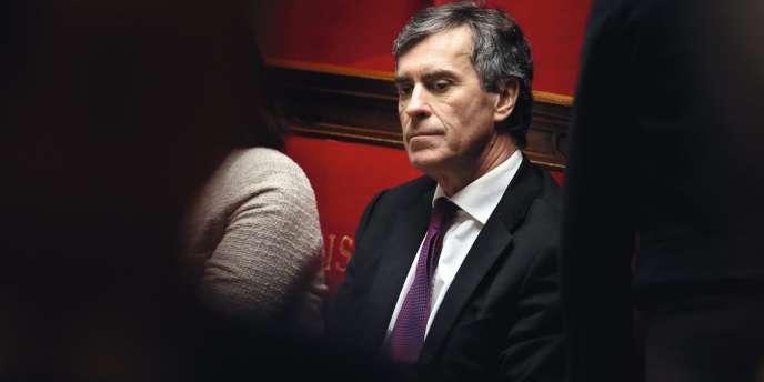 Jérôme Cahuzac, le 15 janvier à l'Assemblée nationale.