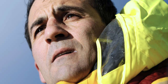 Alessandro Di Benedetto, bizuth et dernier arrivé du Vendée Globe 2012-2013.