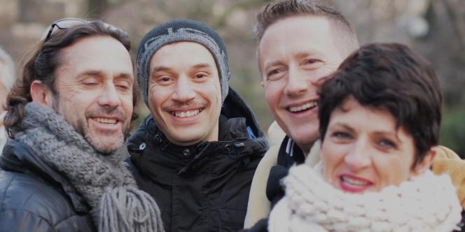 Michel, Houcine, Henri et Sophie