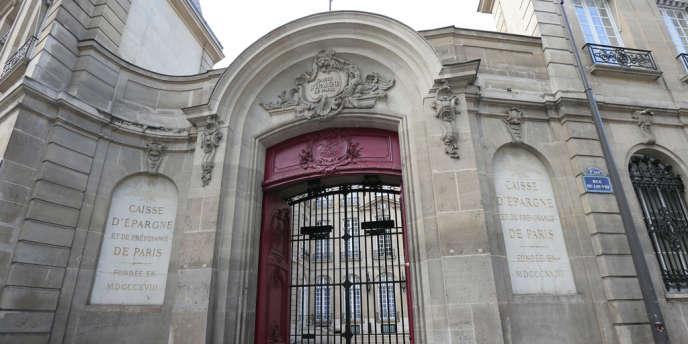 L'entrée de la Banque de France.