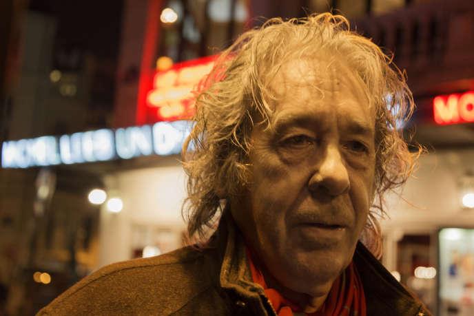 Paco Ibañez, à Paris, jeudi 24 janvier.