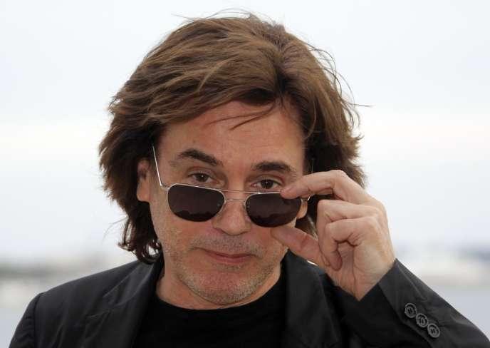 Le musicien français Jean-Michel Jarre interviendra en tant que président de la Cisac, lundi 3 février 2014, au Midem (ici à Cannes, le 27 janvier 2013).
