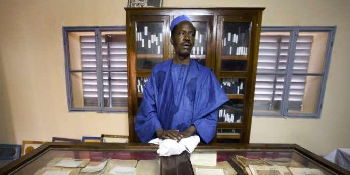 A l'institut Ahmed-Baba, sur une photo de 2004.