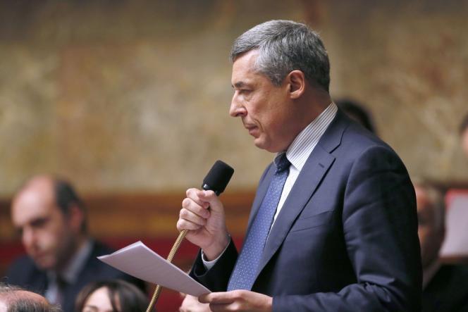 Henri Guaino, le 15 janvier, à l'Assemblée nationale.