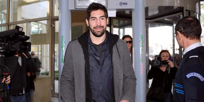 Le champion du monde de handball Nikola Karabatic est mis en examen dans l'affaire des «paris truqués» et pourrait être jugé cet été (ici à Montpellier le 29 janvier 2013).