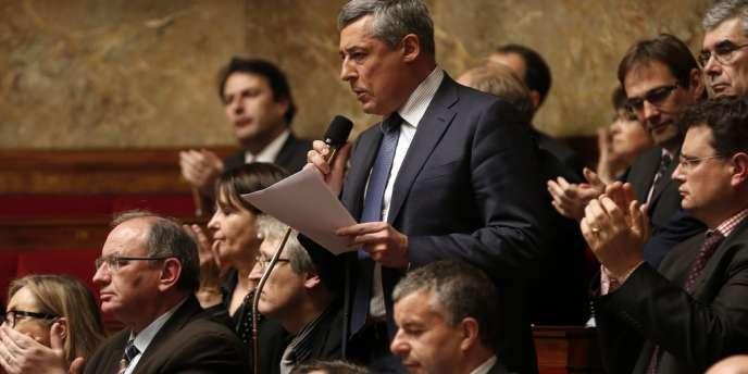 Le député UMP Henri Guaino, à l'Assemblée nationale, le 15 janvier.