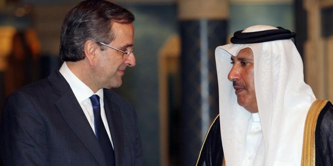Cheikh Hamad a précisé que le Qatar et la Grèce investiraient chacun un milliard d'euros dans ce fonds, lors d'une conférence de presse avec son homologue grec Antonis Samaras