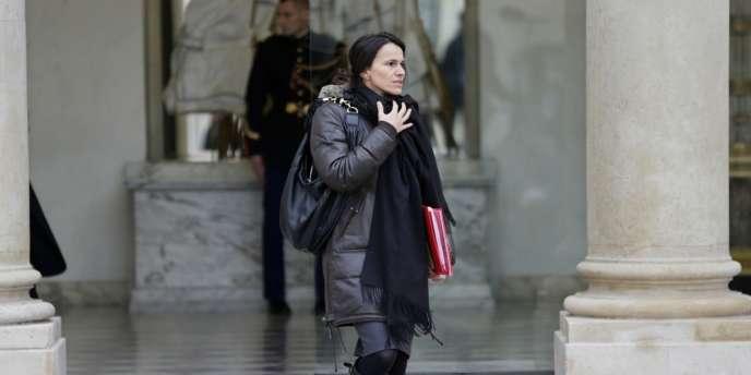 Aurélie Filippetti, a jugé l'incident du Musée d'Orsay