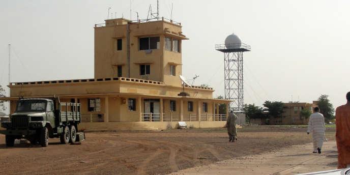 L'aéroport de Kidal, le 7 août 2012.