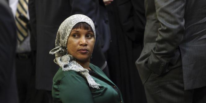 Nafissatou Diallo à New York, le 10 décembre 2012.