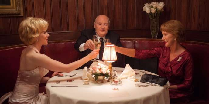 Scarlett Johansson, Anthony Hopkins et Helen Mirren dans le film américain de Sacha Gervasi,