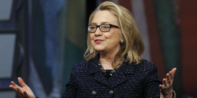 Hillary Clinton, le 29 janvier, à Washington.