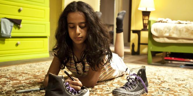 Waad Mohammed dans le film saoudien d'Haifaa Al-Mansour,