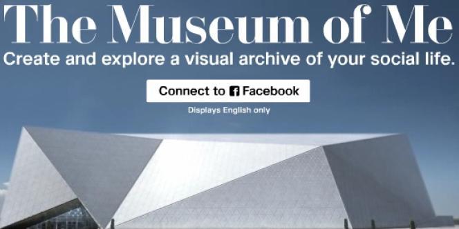 The Museum of Me, d'Intel.com, invite l'internaute titulaire d'un compte Facebook à