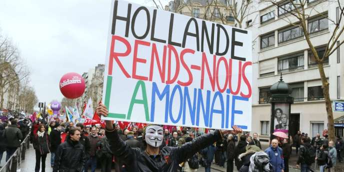 Manifestation des fonctionnaires dans les rues de Paris, jeudi 31 janvier.