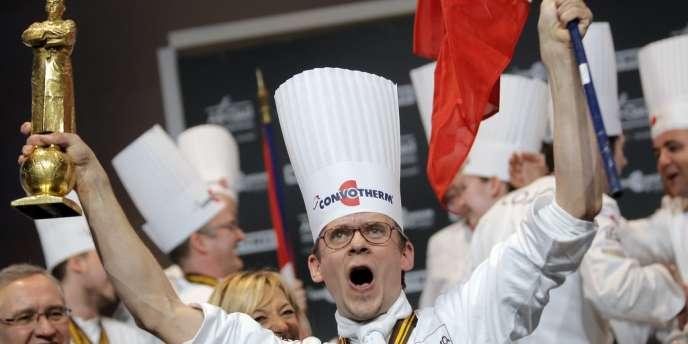Le chef Thibaut Ruggeri, lauréat du Bocuse d'Or.