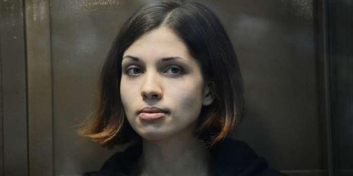 Nadejda Tolokonnikova, en octobre 2012.