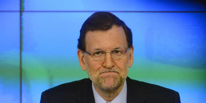 Mariano Rajoy s'est exprimé publiquement samedi 2 février.