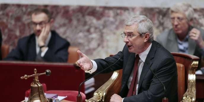 Claude Bartolone à l'Assemblée, le 30 janvier.