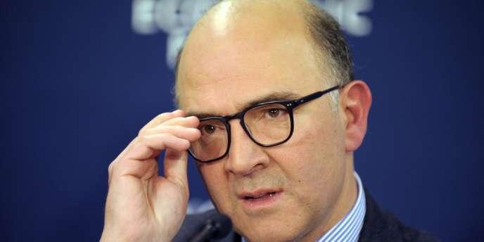 Le ministre de l'économie, Pierre Moscovici, le 25 janvier.