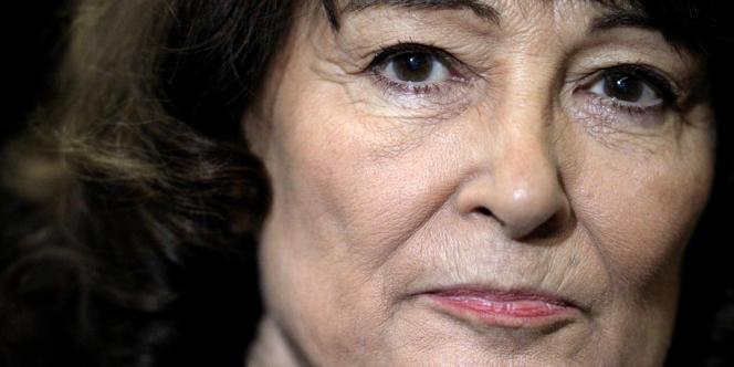 La philosophe Sylviane Agacinski en 2012.