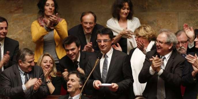 Erwann Binet, le rapporteur socialiste du projet de loi sur le