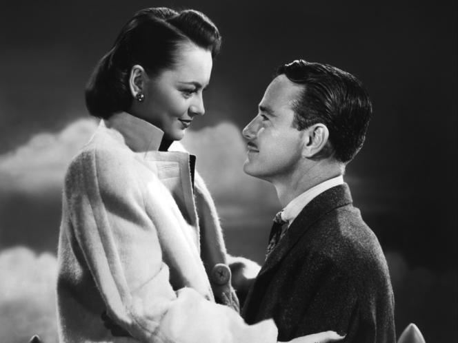 Olivia de Havilland et Lew Ayres dans le film américain de Robert Siodmak,