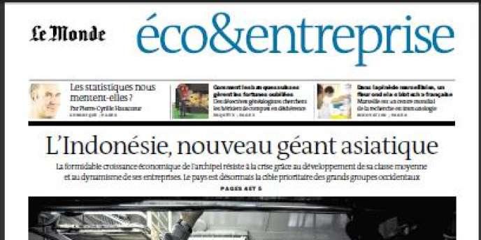 Le Monde du mardi 5 février 2013. Cahier