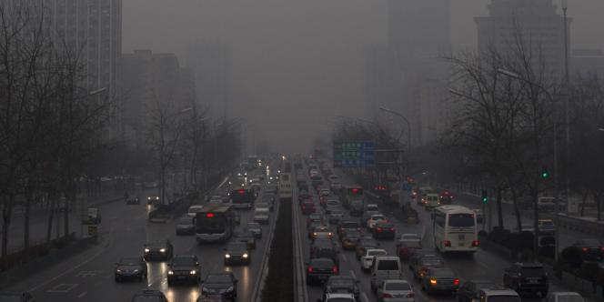 Pékin et d'autres villes chinoise sont régulièrement affectées par d'importants pics de pollution.