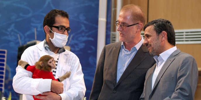 L'Iran avait affirmé fin janvier avoir envoyé à bord d'une capsule à 120 km d'altitude pendant une vingtaine de minutes un singe baptisé Pishgam (Pionnier), et qu'il était revenu vivant de ce voyage.