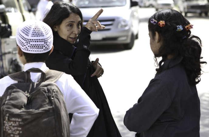 La réalisatrice saoudienne Haifaa Al-Mansour.
