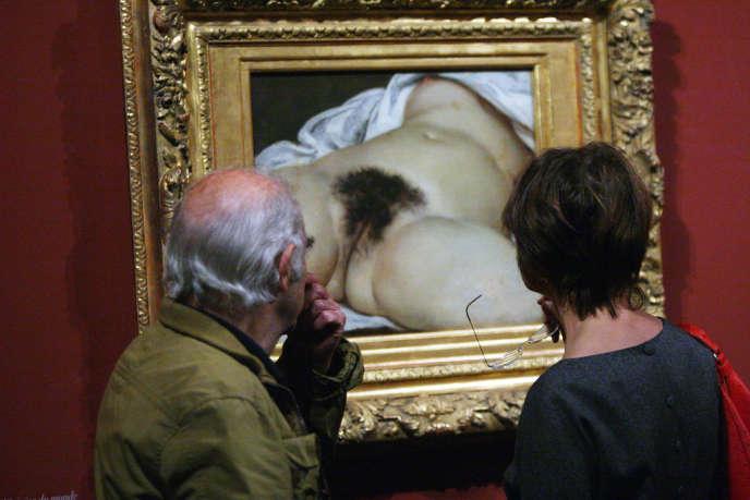 «L'Origine du monde» de Gustave Courbet est exposé au Musée d'Orsay depuis 1995.