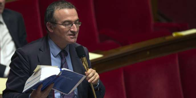 L'UMP Hervé Mariton est l'un des députés qui prend le plus la parole dans le débat sur le mariage pour tous.