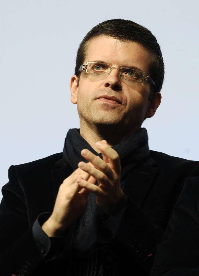 Le sénateur socialiste Luc Carvounas, le 28 octobre 2012, à Toulouse.