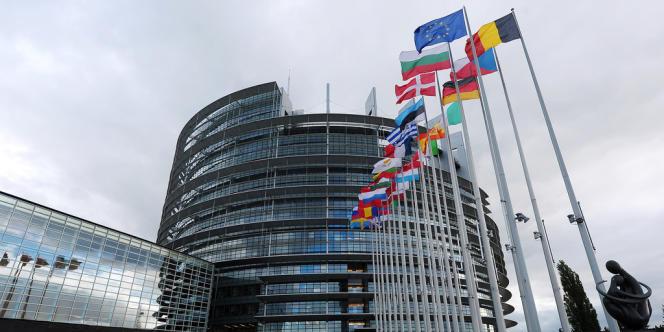 Le Parlement européen, le 12 octobre.